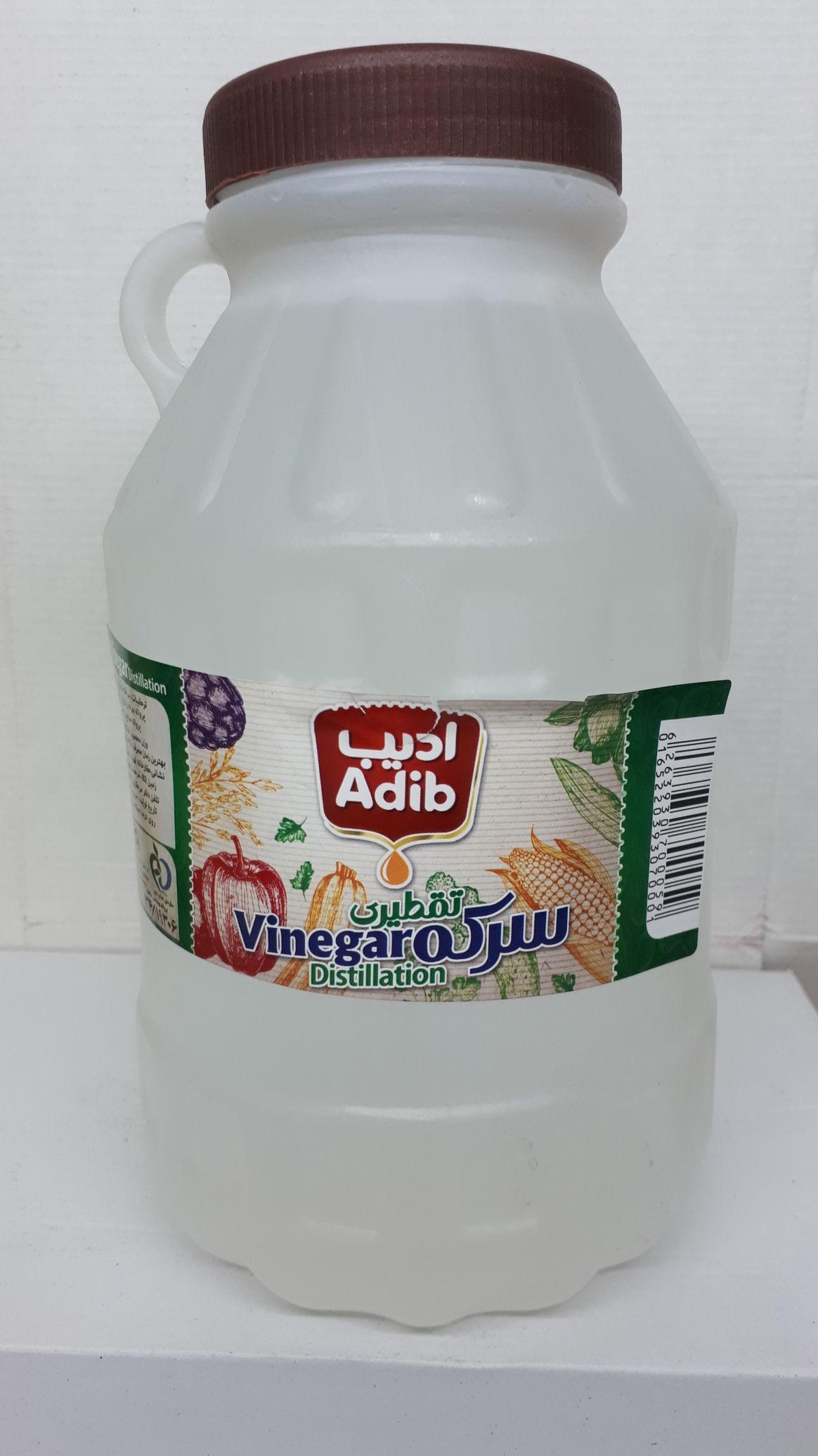 سرکه سفید ادیب 3 لیتری،عمده فروشی مواد غذایی،پخش مواد غذایی و بهداشتی،خرید مواد غذایی به قیمت کارخانه، سوپر مارکت آنلاین