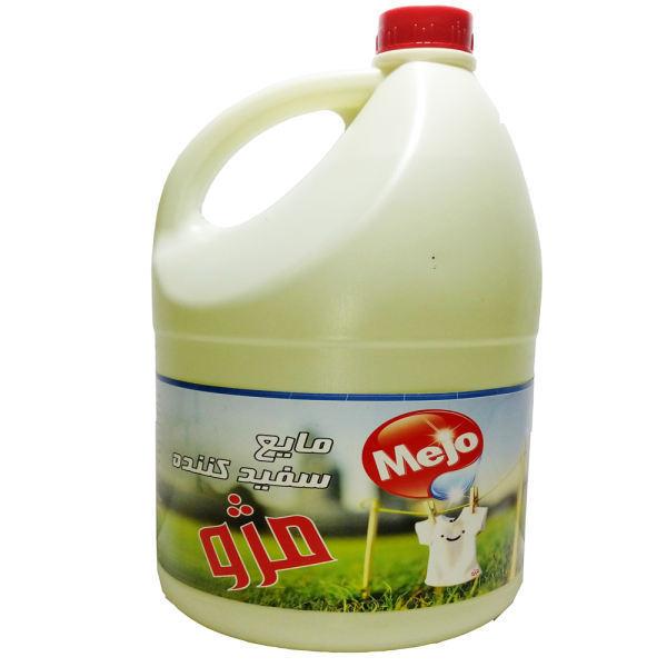 مایع سفید کننده مژو 4 لیتری