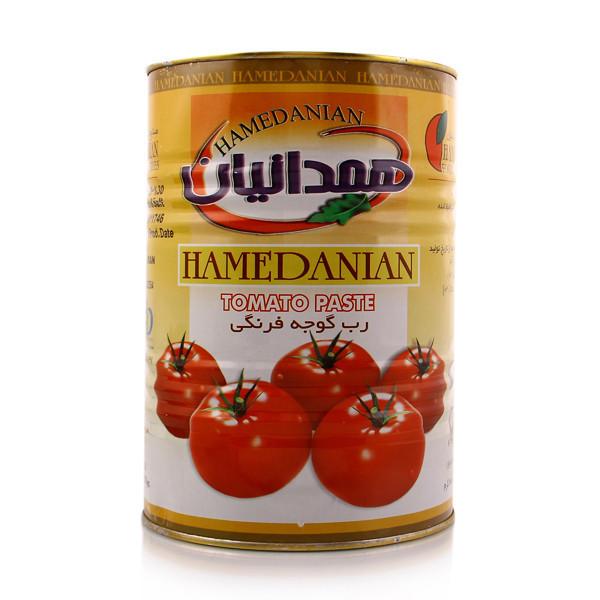 رب گوجه فرنگی همدانیان 4.5 کیلویی ،عمده فروشی مواد غذایی،پخش مواد غذایی و بهداشتی،خرید مواد غذایی به قیمت کارخانه، سوپر