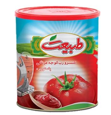 رب گوجه فرنگی طبیعت 800 گرمی ،عمده فروشی مواد غذایی،پخش مواد غذایی و بهداشتی،خرید مواد غذایی به قیمت کارخانه